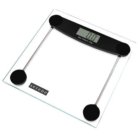 Digital Bathroom Scales: Serene Electronic Digital scales