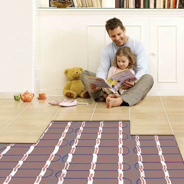 Under Tile Heating Mats: HOTWIRE™ 1050W Full System. Heating Mat 7.0m2