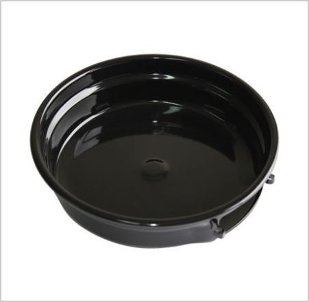 DRIP BOWL: Top element 200mm, 20mm ledge