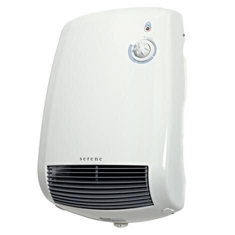 Living Room Fan Heater: Serene 'Roma' 2.2kW, Manual Control