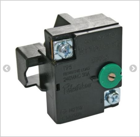 THERMOSTAT: Domestic Hot Water 50-70° 1 pole
