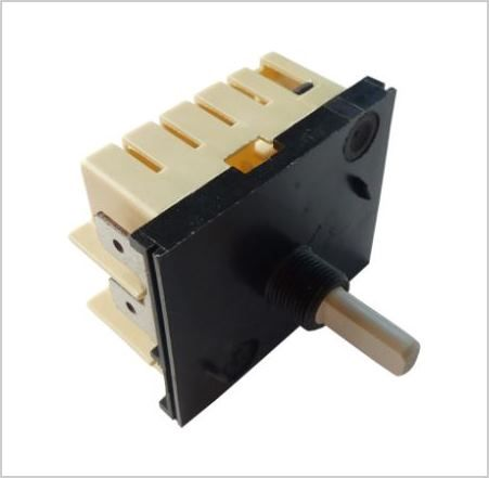 FUNCTION SWITCH: 15 Amp Rotary Switch ON/OFF