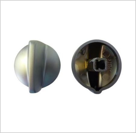 KNOB: Oven control knob with satin indicator (extended shaft)