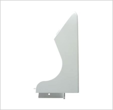 OVEN END PLATE: Right Hand (Blank)