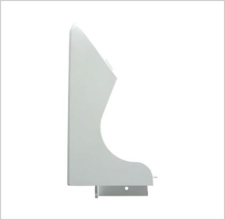 OVEN END PLATE: Left Hand (Blank)