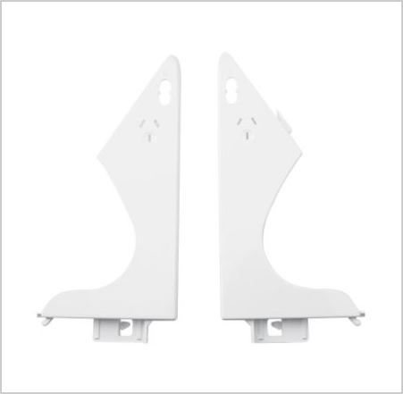 OVEN END PLATE: Left & Right Hand Pair